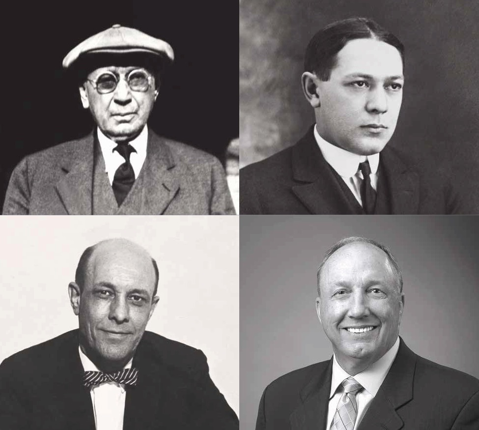 Four generations of bank leaders.