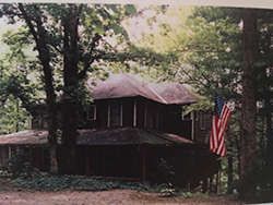 """The """"Big House"""" on Rock Island in Tennessee."""