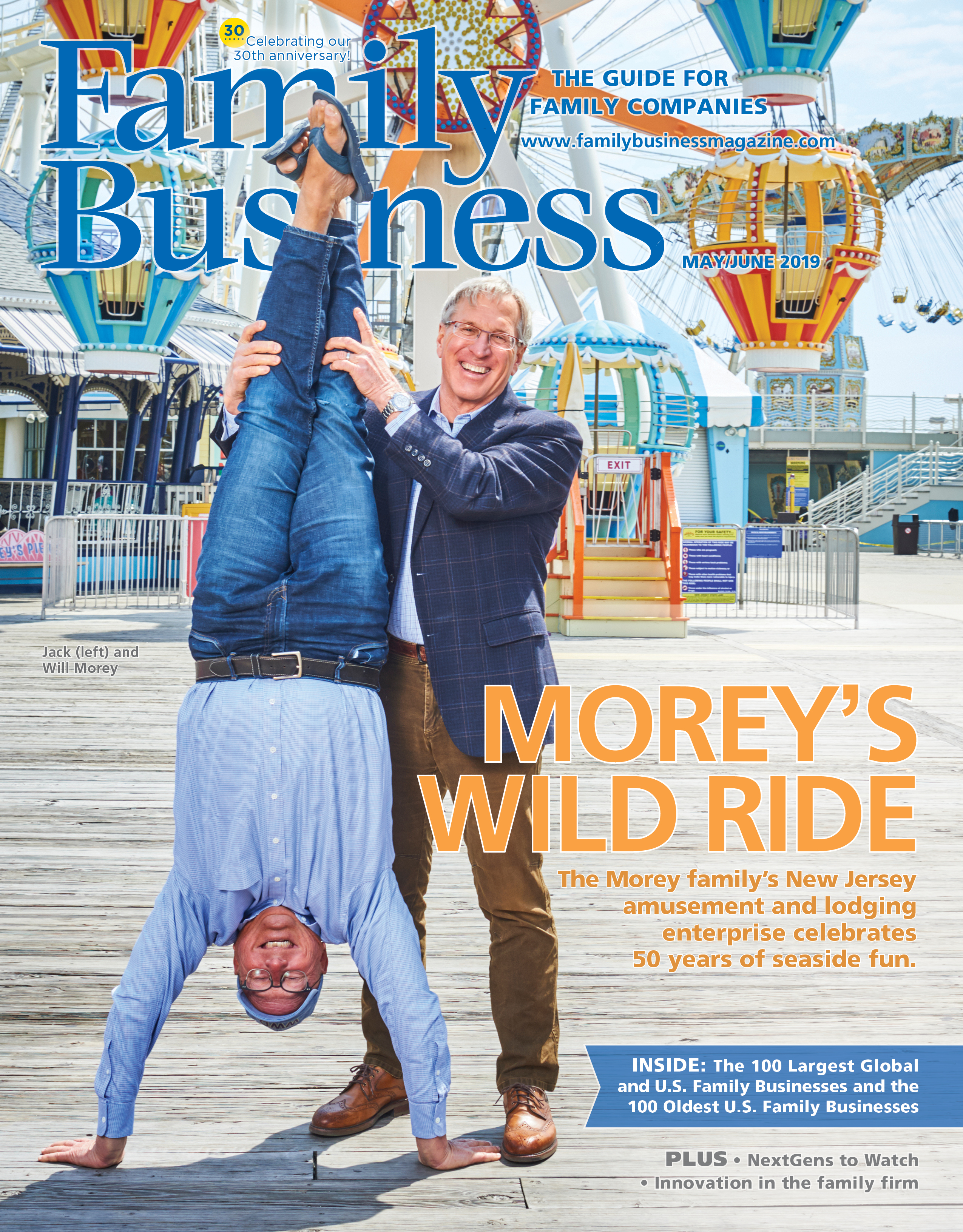 Family Business Magazine May/June 2019 cover