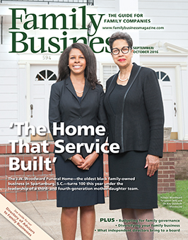 Family Business Magazine September/October 2016