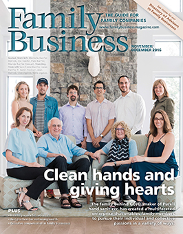 Family Business Magazine November/December 2016
