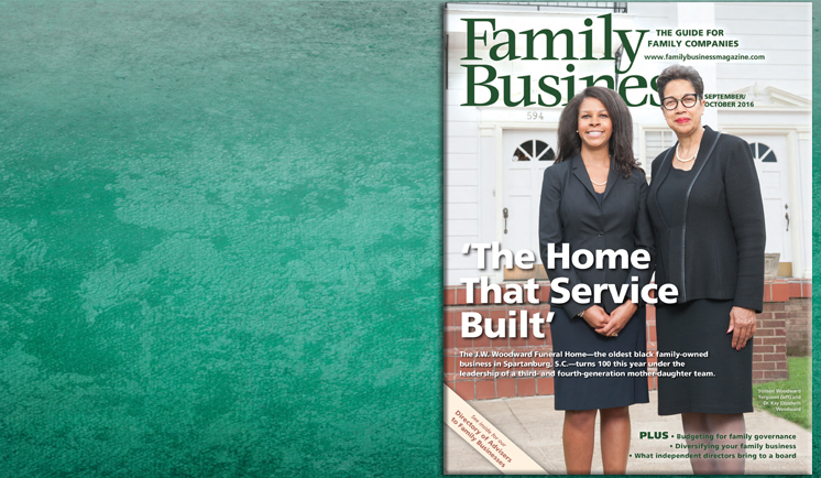 Family Business Magazine September/October 2015